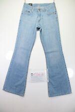 Lee Flare Bootcut (Cod. D1363) Tg.44 W30 L32 jeans usato High Waist vintage