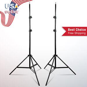 "86.5"" Light Stand Adjustable Tripod for Photo Studio Soft Box Boom Lighting Kit"
