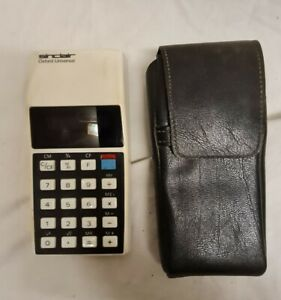 Sinclair Oxford Calculator - Vintage with sleeve
