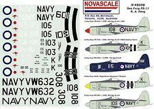 RAN Sea Fury Decals 1/48 Scale N48008