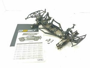 Team Losi Racing 22SCT 1/10 Short Course Truck Roller Slider Chassis Used