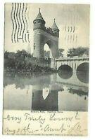 Post Card c.1905 Hartford Conn. Soldiers Arch Chapman News Co. River  Bridge