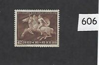 Very nice MNH stamp / 1941 Brown derby Horse race / Munich  / Third Reich