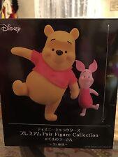 SEGA Disney Characters Winnie The Pooh Piglet Premium Pair Figure Collection New