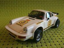 SCALEXTRIC PORSCHE CARRERA RS blanco #3 EXIN 4051 (1975) /C44/