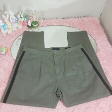 Ovs Men Olive Green Pants Size 52 Italy