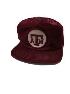 Vintage Texas A&M Aggies New Era Major League Pro Model Hat Cap SM/Medium USA
