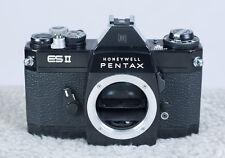 Pentax ES and Pentax ESII Screw Mount Camera Bodies