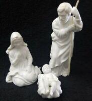Avon Nativity Collectibles Joseph, Mary & Jesus Porcelain 3 pieces Vintage 1981