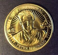 Peter Forsberg 1997-98 Pinnacle Mint Minternational Jumbo Brass Coin #M-2