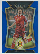 AXEL WITSEL 2015 Panini Select Soccer Blue Prizm #/299 #87 Belgium