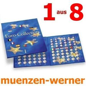 Münzenalbum Leuchtturm Sammelalbum für Euro·Münze·Sammlung Sammel Mappe Album