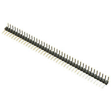 5pcs 1x40 Pin Headers Right Angle Single Row 40 pins, 2.00mm pitch, Male USA