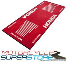 HONDA MOTORCYCLE MOTORBIKE RED WORKSHOP HOME SHED STORAGE GARAGE MAT