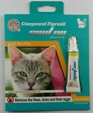 �12 doses Generic Frontline Plus for Cats flea tick 12pk Usa Seller