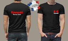 t-shirt personnalisé kawasaki moto biker rider motard motorcycle vintage M031