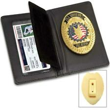 Gold Concealed Service Dog Badge, With Clip on Collar Holder - Xmas time !!