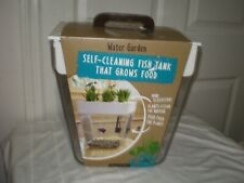 NEW Back to the Roots Water Garden Aquaponic Self-Cleaning 3 Gal Fish Tank
