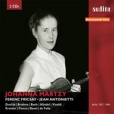 Johanna Martzy : Johanna Martzy: Dvorák/Brahms/Bach/Handel/Vivaldi/Kreisler/...