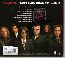 MICK JONES - Signed CD - Foreigner Can't Slow Down - MUSIC