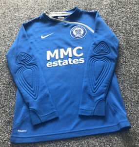 Nike Rochdale FC Goalkeeper Football Shirt 2008/2009 - Kids Size Age 8-10 Years