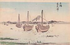 HIROSHIGE - FUJI ukiyo-e ESTAMPE JAPONAISE AUTHENTIQUE original japan woodblock