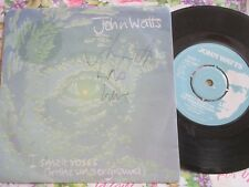 John Watts Fischer-Z Autographed  I Smelt Roses (In The Underground  7inch EMI