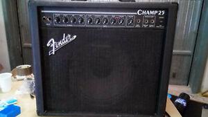 Amplificatore valvolare per chitarra Fender Champ 25 made in U.S.A.