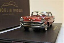 BROOKLIN MODELS 1/43 BRK221X 1957 CHEVROLET BEL-AIR SEDAN. BRAND NEW IN BOX.