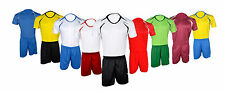 Football Soccer Kits Short Sleeve T-Shirt Shorts Team Suit Sportswear Kids Adult