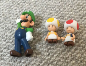 Three Mario Characters