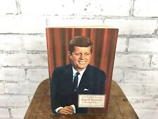 Vintage John F Kennedy Young Man Of Destiny by Helene Hanff Stamp Book JFK 1965