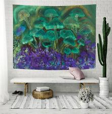 Psychedelic Fantasy Mushroom Tapestry Wall Hanging for Bedroom Living Room Dorm