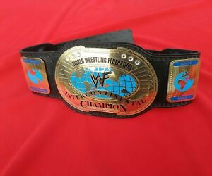 Intercontinental Champion Belt Leather Thick Oval 2MM Plates Replica Adults