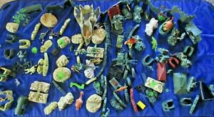 War Plastic Playsets Soilders, Vechiles, Boundries and more BULK LOT as is.
