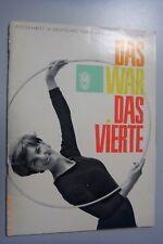 Das war das IV.Deutsche Turn- und Sportfest Leipzig Festschrift/Chronik DDR GDR