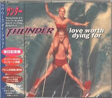 Japan CD Import - Thunder - Love Worth Dying For - UPC 4988002345816 New