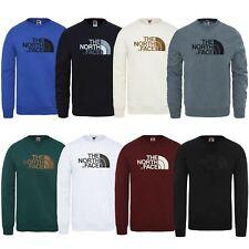 The North Face Mens Sweat Crew Neck Sweatshirt Logo Pullover Authentic