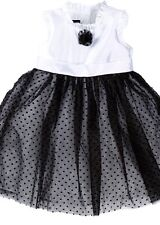 Wendy Bellissimo Infant Party Dress 2-Pc Set 12 Months Black White