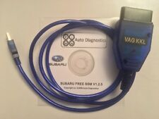 SUBARU IMPREZA (WRX & STi) USB OBD2 II Diagnostic lead & FreeSSM V1.2.5 Software