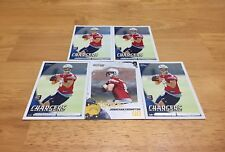 JONATHAN CROMPTON LOT OF 5 FOOTBALL CARDS SAN DIEGO CHARGERS QB TENNESSEE ROOKIE