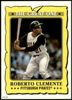 Roberto Clemente 2021 Topps Heritage 5x7 The Great One #GO-2 /49 Pirates