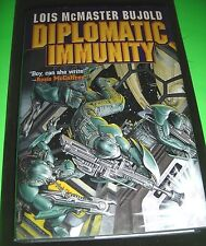 Diplomatic Immunity by Lois McMaster Bujold 2002 Baen Original Hardcover