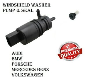 BMW AUDI MERCEDES BENZ PORSCHE VW Windshield Washer Fluid Pump With Strainer MTC