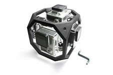 360 degree spherical Panorama Mount F. 6x GoPro Go Pro HD HERO 3, 3+ ACCESSORI