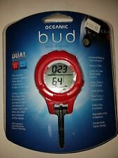 ** NEW ** OCEANIC BUD Back Up SCUBA wrist computer RED New