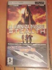 Película La Amenaza invisible Stealth (Película con envoltorio +3 juegos)