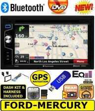2004 & UP FORD MERCURY GPS NAVIGATION CD DVD USB BLUETOOTH CAR Radio Stereo PKG