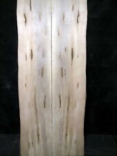 """S=131_ Book Mached Ambrosia Maple Slabs 49 1/2"""" x 20-22"""" x 1 1/8"""" _ table top"""