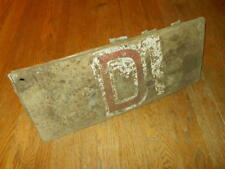 WW2 German Luftwaffe ARMORED COOLER FLAP - Me109 E Jabo Russian Front - V. RARE!